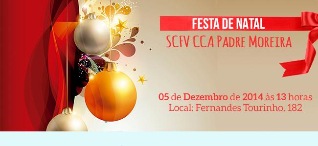 Festa de Natal SCFV CCA Padre Moreira
