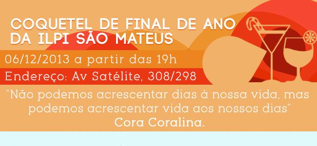 Coquetel de Final de Ano da ILPI São Mateus