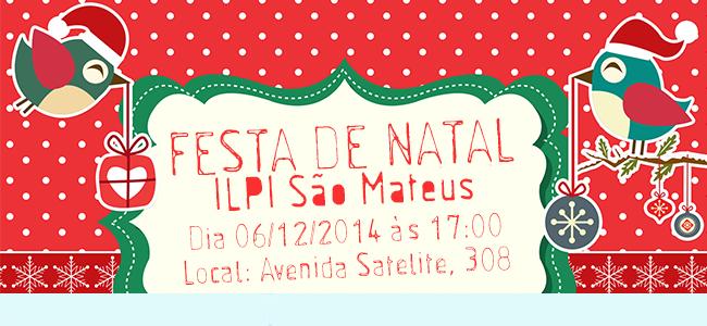 Festa de Natal ILPI São Mateus