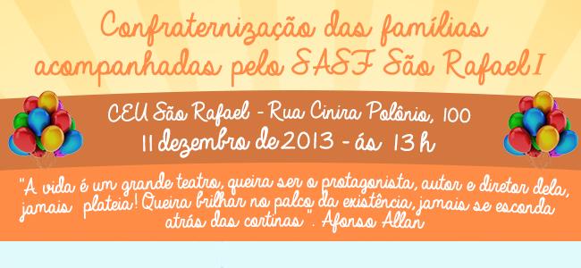 Confraternização SASF São Rafael