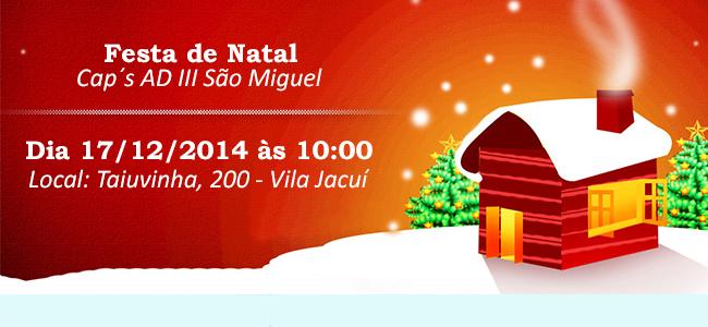Festa de Natal Cap's AD III São Miguel
