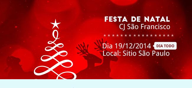 Festa de Natal Cj São Francisco