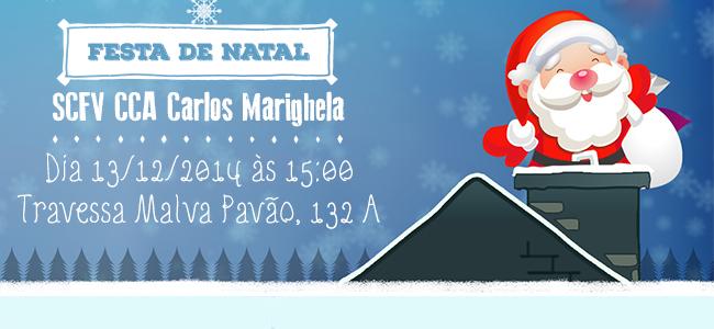 Festa de Natal SCFV CCA Carlos Marighela