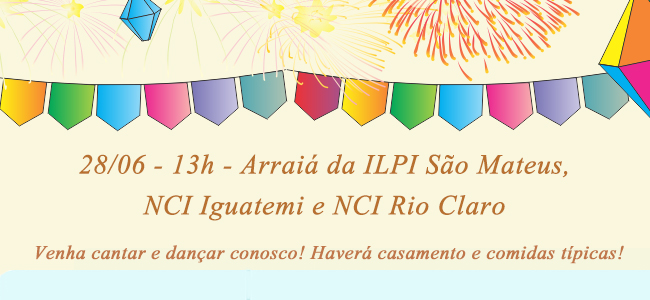 Arraia NCI Iguatemi e NCI Rio Claro