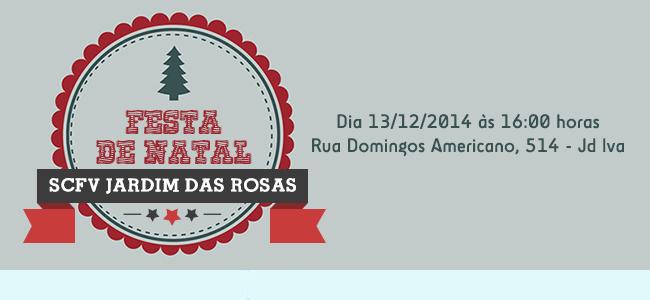 Festa de Natal SCFV Jardim das Rosas